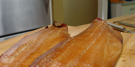 Backyard Hot Smoked Salmon