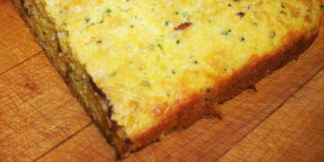 Bacon and Cheese Cornbread