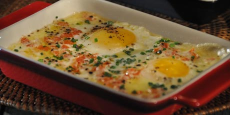 Roger Mooking's Baked Eggs