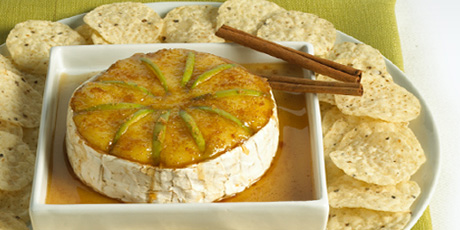 Baked Maple Brie