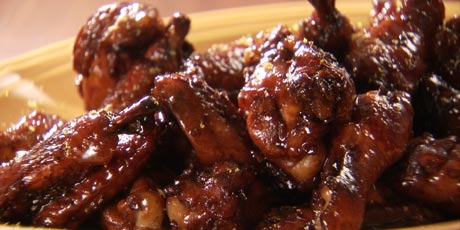 Balsamic Chicken Wings Recipes Food Network Canada