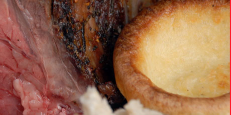 BBQ'd Yorkshire Pudding
