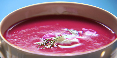 Beet and Buttermilk Soup