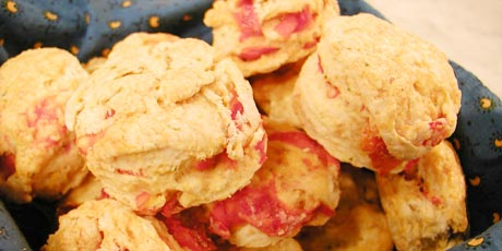 Biscuits with Rosemary and Tomato
