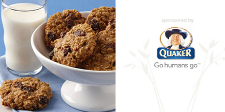 Calorie-Wise Oatmeal Raisin Cookies
