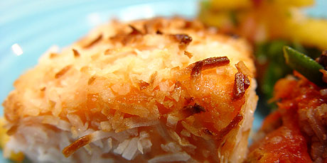 Caribbean Coconut Crusted Salmon Recipes Food Network Canada