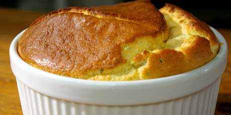 Cheese and Herb Soufflé
