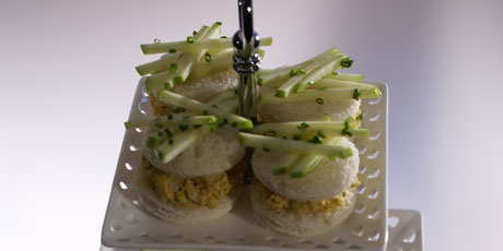 Chicken Sandwiches with Curried Mayonnaise
