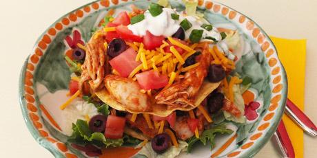 Chicken Tostada Salad Recipes Food Network Canada