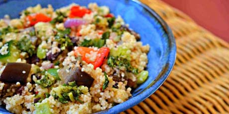 Chimichurri Couscous Salad