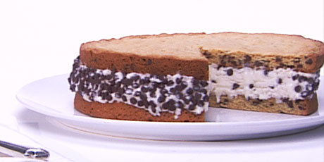 Chocolate Chip Ice Cream Cake