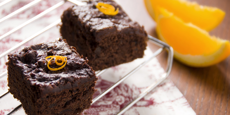 Chocolate & Orange Date Cake