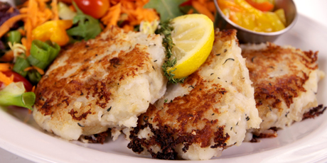 Codfish Cakes from Chafe's Landing