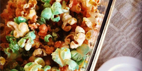 Colourful Easter Popcorn