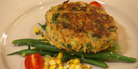 Crab Cakes with Lemon Remoulade