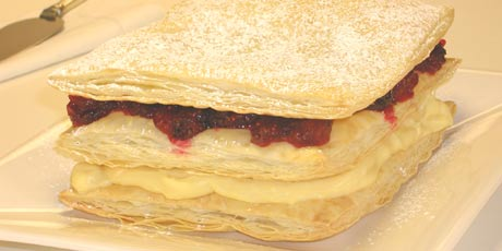 Cranberry Mille Feuilles