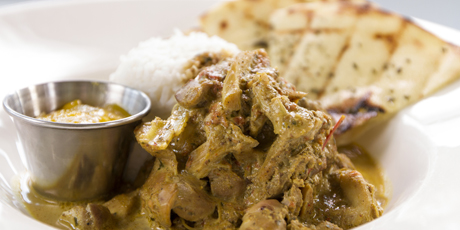 Crazyweed Singapore Chicken Curry