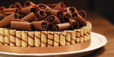 Crunchy Chocolate-Chestnut Cake Recipes | Food Network Canada
