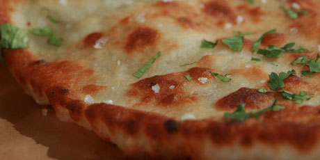 Double Coriander Flatbreads