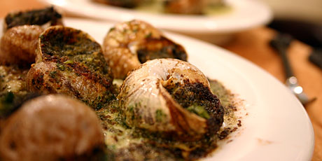 Escargots with Pernod Butter