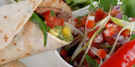 Flank Steak Fajita