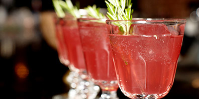 Floral Absinthe Punch