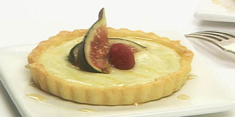 Fresh Fig and Honey Tarts