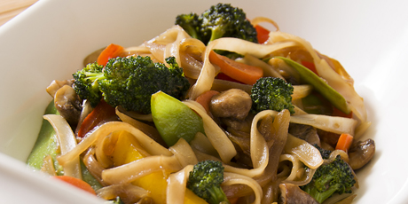 Ginger & Vegetable Stir-Fry