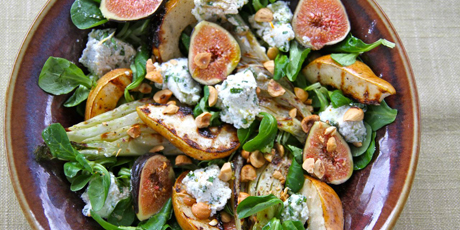 Grilled Fennel & Pear Salad