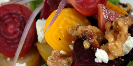 Grilled Summer Beet Salad