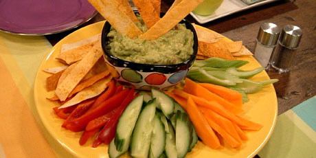 Guacamole with Tortilla Crisps