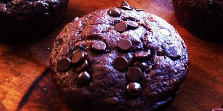 Healthy Chocolate Muffins
