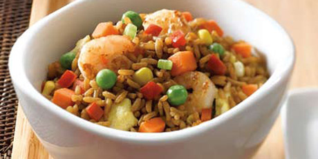Healthy Mixed Fried Rice
