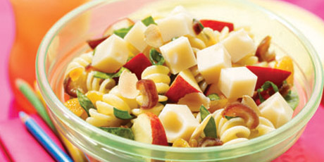 High-Performance Pasta Salad with Canadian Swiss
