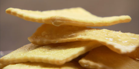 Homemade Soda Crackers