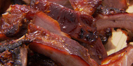 Honey Garlic Baby Back Ribs