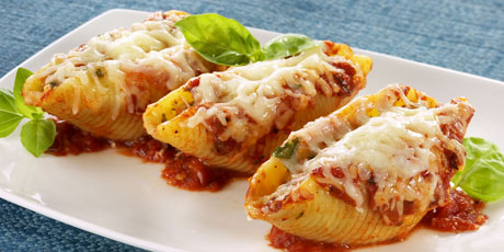 Italiano Sausage Stuffed Shells