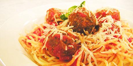 Kids Spaghetti And Meatballs Recipes Food Network Canada