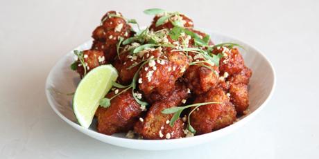 Korean Fried Cauliflower Recipes Food Network Canada