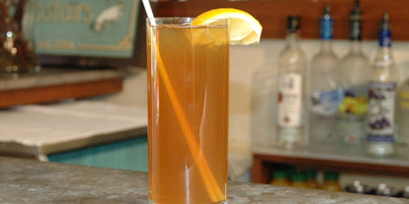 Lemon Lavender Iced Tea