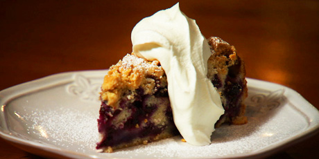 Lynn Crawford's Blueberry Buckle