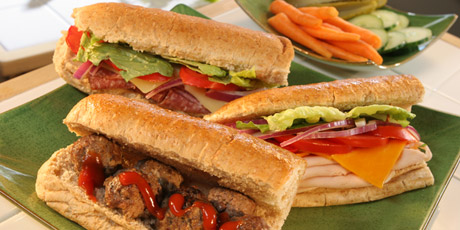 Make Your Own Sub Sandwiches