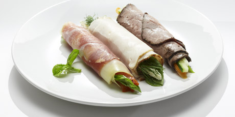 Meat and Veggie Rolls