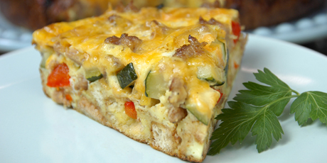 Most Egg-cellent Breakfast Strata