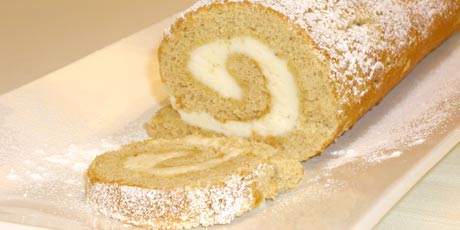Nutmeg Lemon Roulade