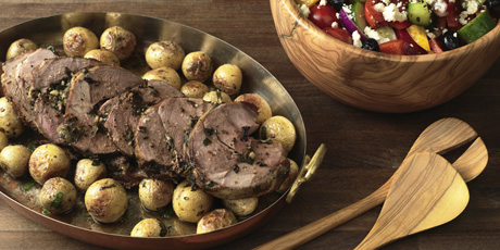 Oregano-Crusted Lamb