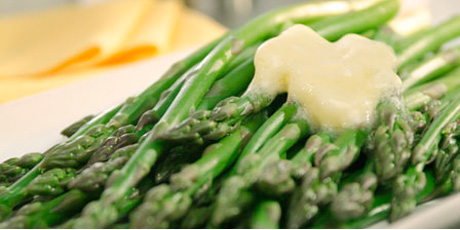Oven Roasted Asparagus with Parmesan Gremolata