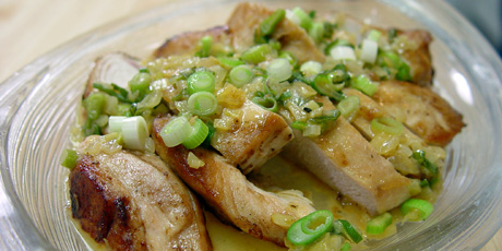 Pan-Roasted Chicken Breasts with Speedy Pan Sauce