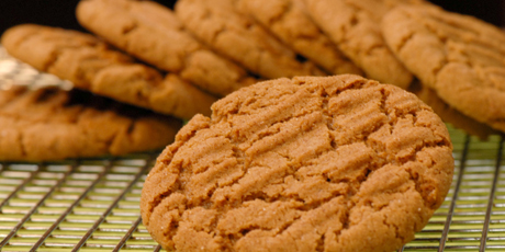 Peanut-BETTER Gingersnap Cookies