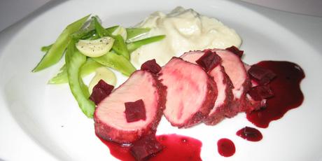 猪腩肉与Maple-Beet酱釉